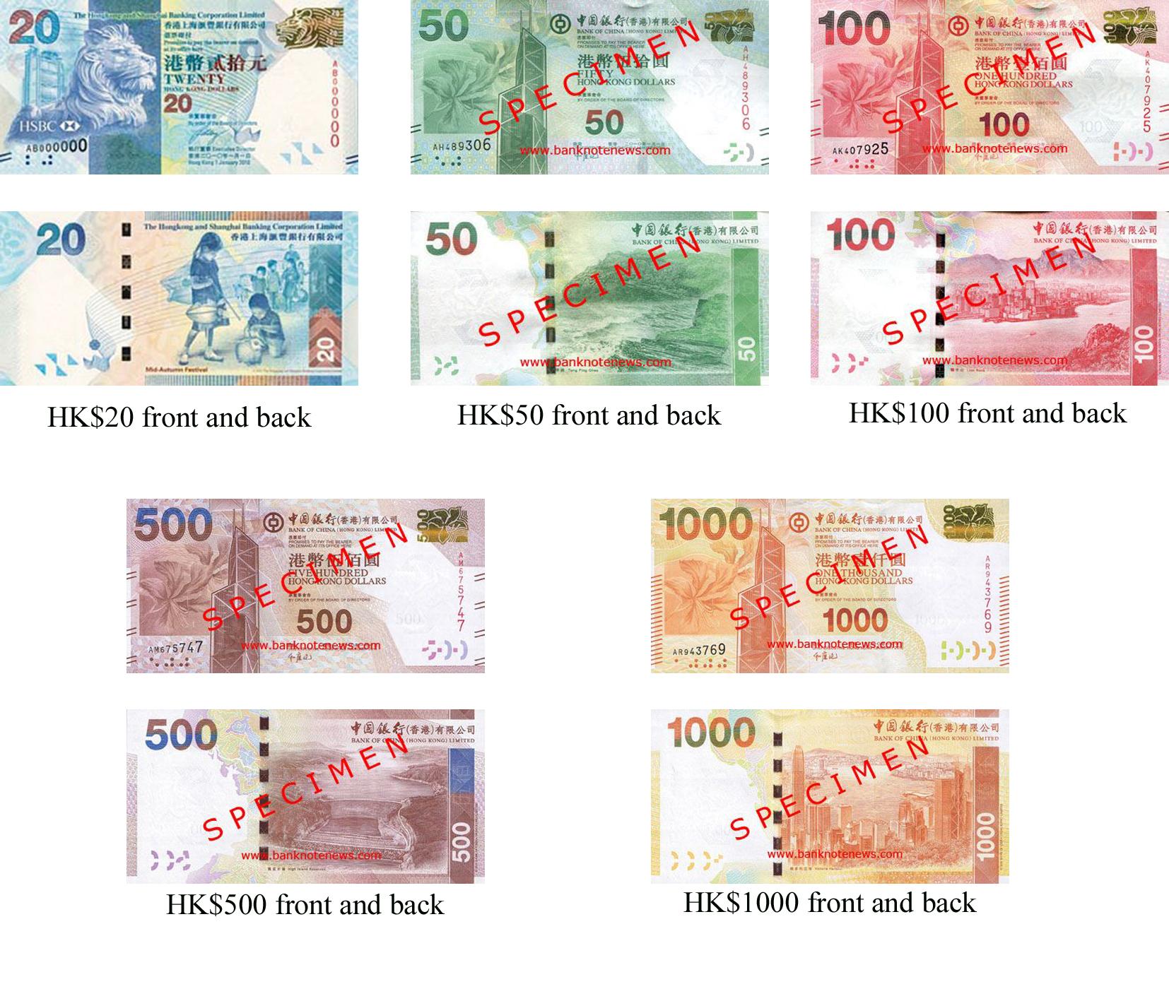 السعر 200 100 Dolar: Carrying HK Dollars